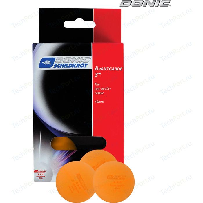 Мяч для настольного тенниса Donic AVANTGARDE 3 - O (6 штук)