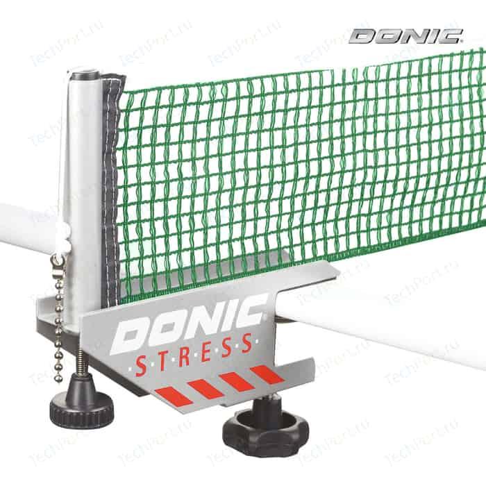 Сетка для настольного тенниса Donic STRESS серый с зеленым