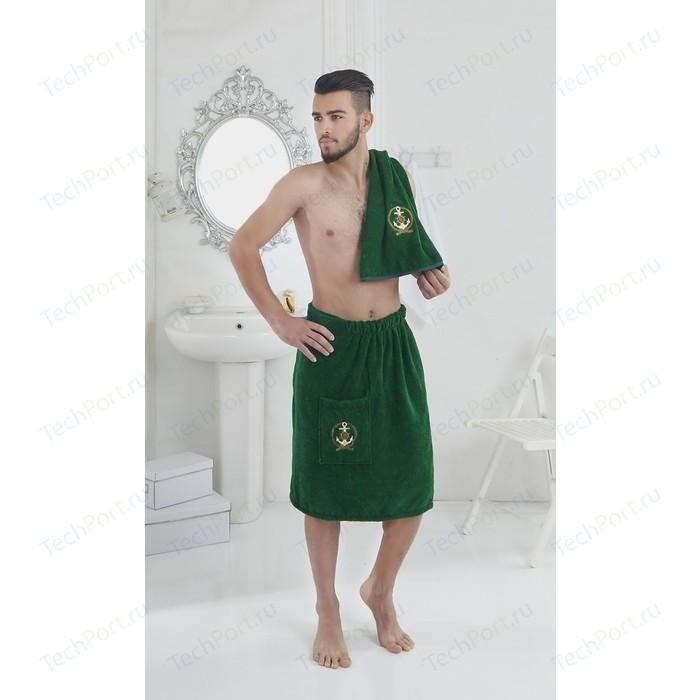 Набор для сауны мужской Karna Pamir зеленый (2608 / CHAR001)