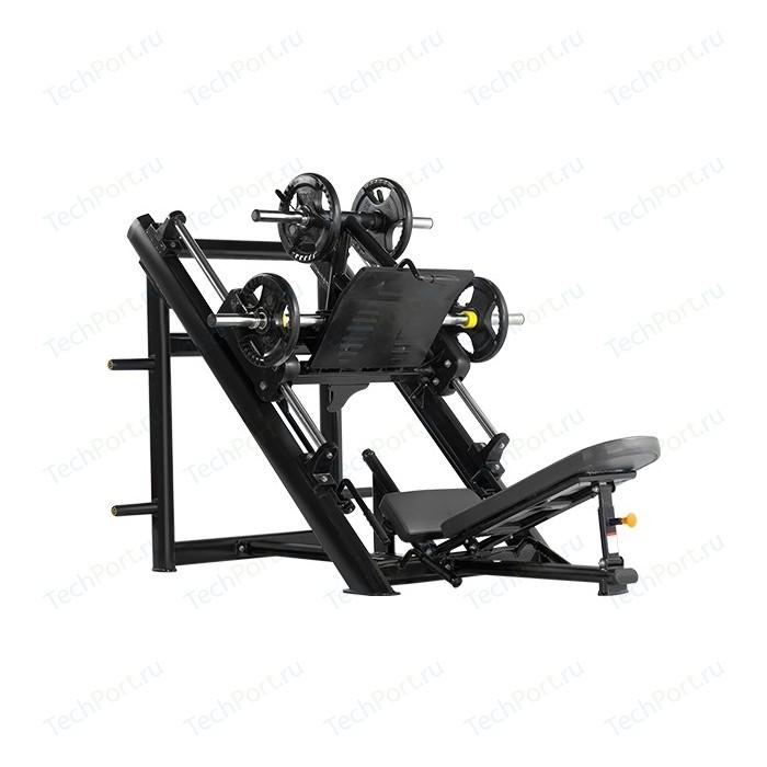 Жим ногами Bronze Gym H-022 под углом 45 градусов (черный)