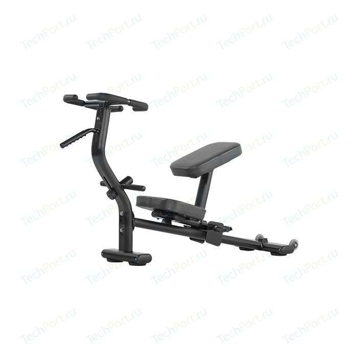 Скамья тренировочная Bronze Gym H-033 (черный)