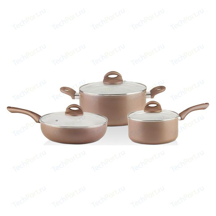 Набор посуды 6 предметов GALAXY (GL 9507 ) набор посуды galaxy gl 9508 6пр