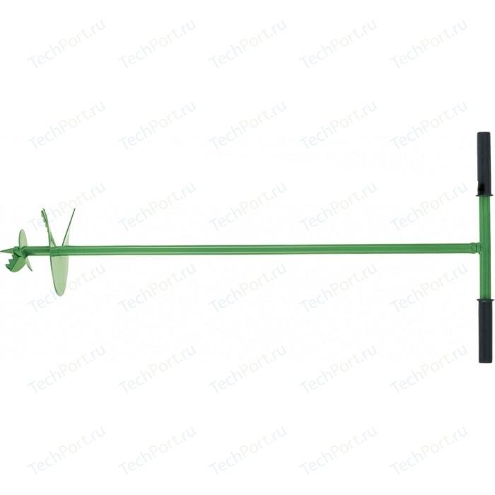 Бур почвенный ручной СибрТех 350х1000 мм (64506)