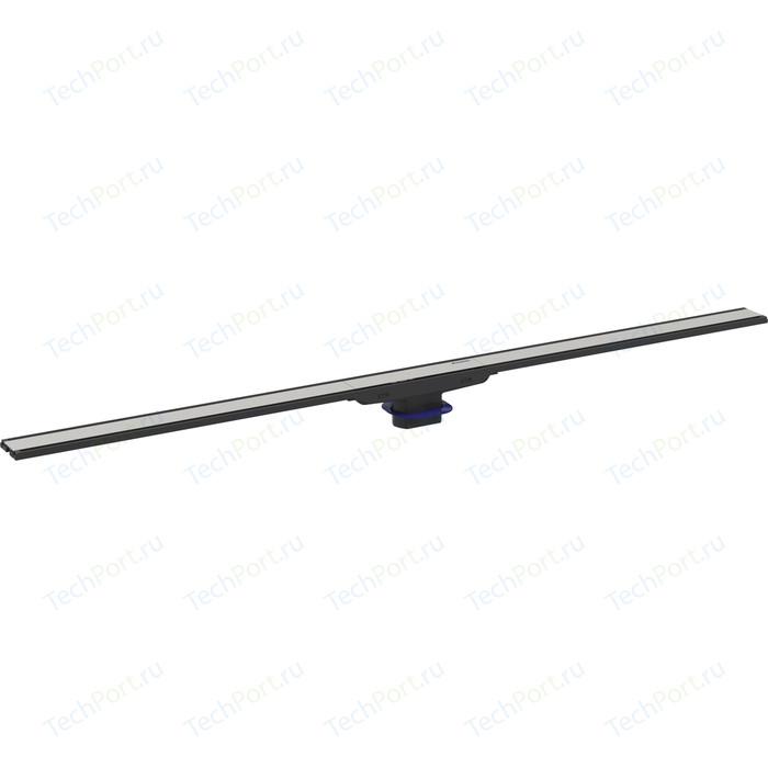 Душевая решетка Geberit CleanLine 60 для лотка, 30-90 см, рамка черная, нержавеющая сталь (154.456.00.1)