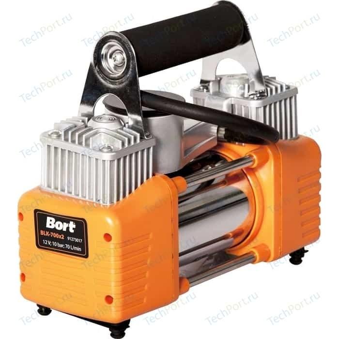 Компрессор автомобильный Bort BLK-700x2 компрессор demark dm 2550