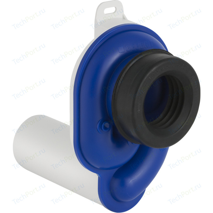 Сифон для писсуара Geberit Uniflex D50, труба горизонтальная D50, белый (152.950.11.1)