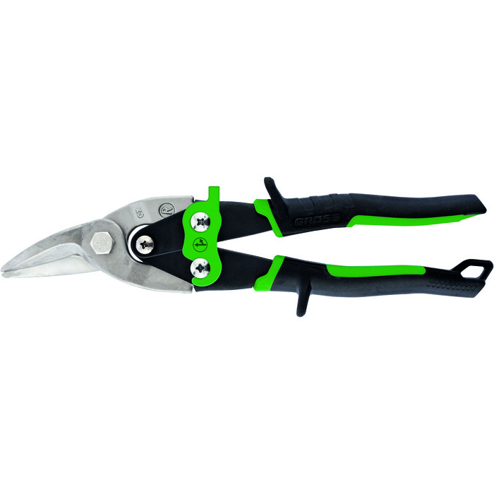 Ножницы по металлу GROSS 250 мм Piranha CrMo (78323)