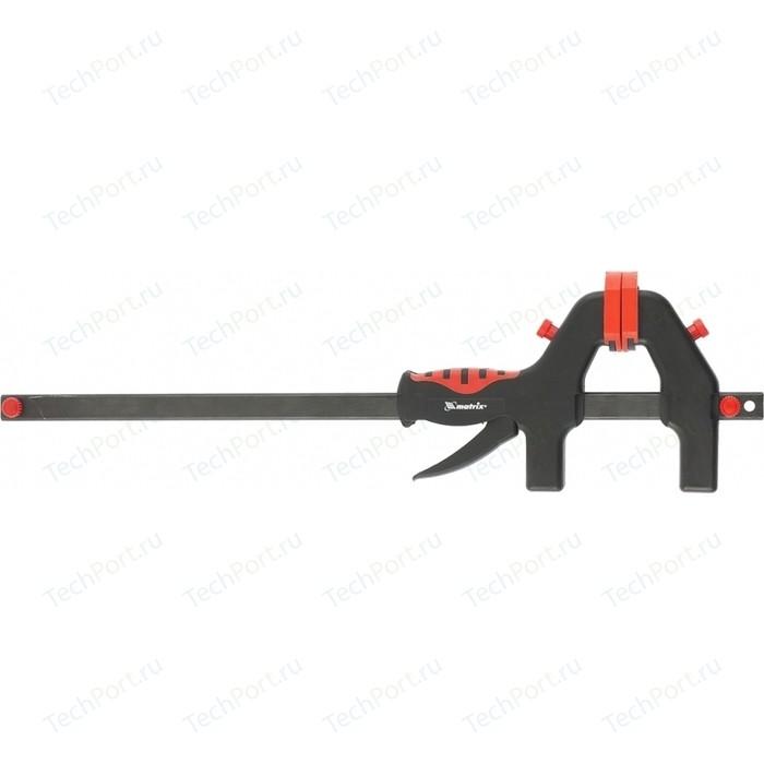 Струбцина Matrix 760x1065x90 мм универсальная быстрозажимная F - образная (20547)