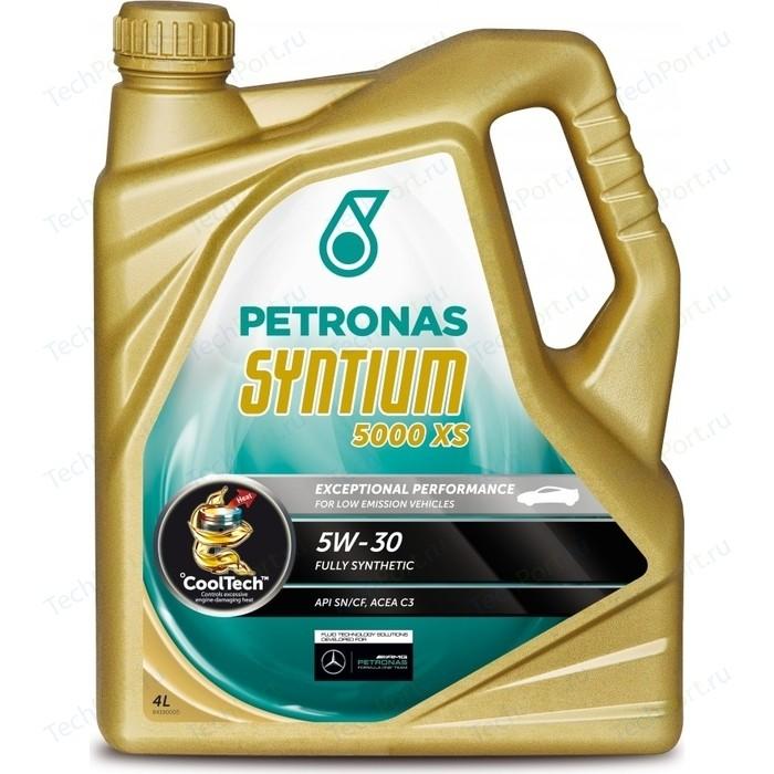 Моторное масло Petronas Syntium 5000 XS 5W-30 4л