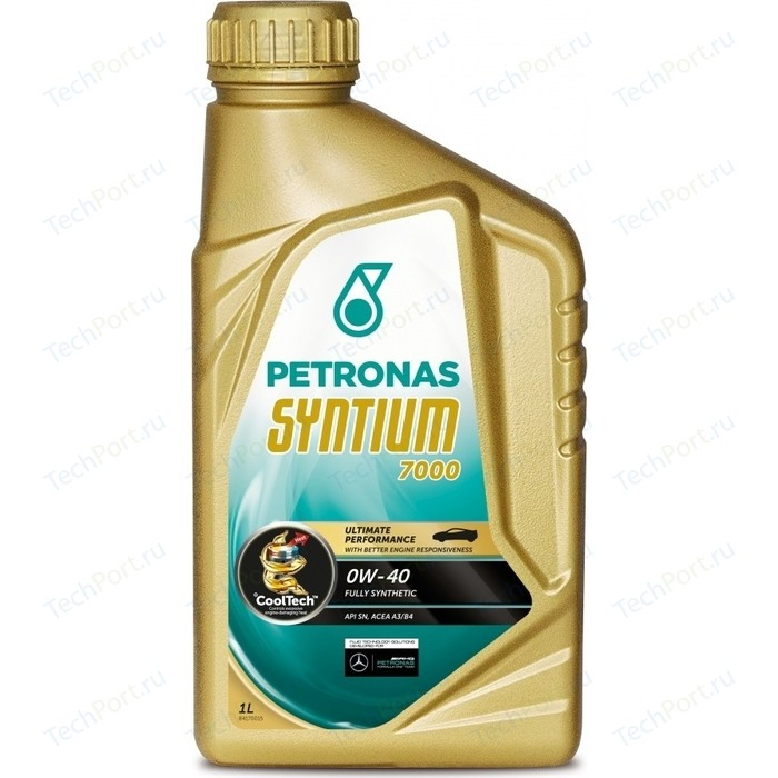 Моторное масло Petronas Syntium 7000 0W-40 1л
