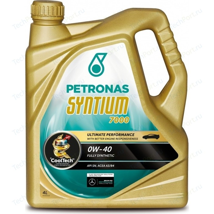 Моторное масло Petronas Syntium 7000 0W-40 4л