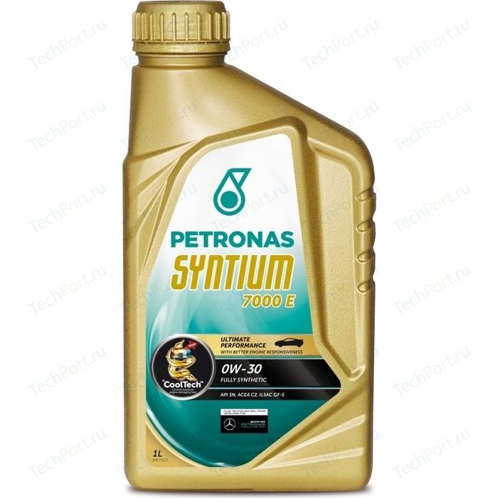 Моторное масло Petronas Syntium 7000 E 0W-30 1л