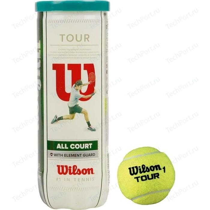 Мяч для большого тенниса Wilson All Court 3B (WRT106300) 3 мяча