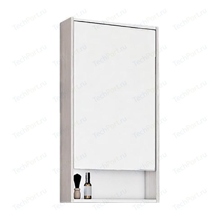 Зеркальный шкаф Акватон Рико 50 белый/ясень фабрик (1A212302RIB90)