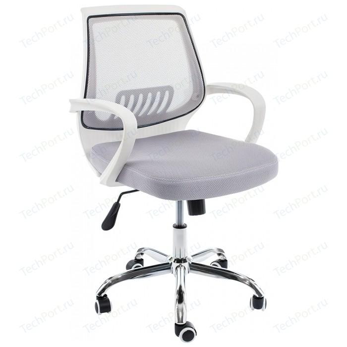 Компьютерное кресло Woodville Ergoplus белое/серое кресло woodville kolum серое