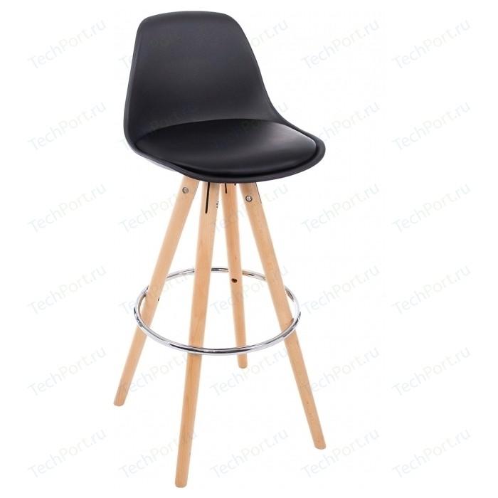 Барный стул Woodville Flor черный