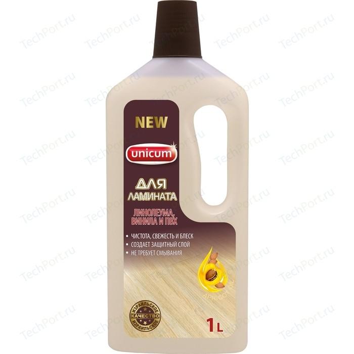 Средство UNICUM для мытья полов ламинат, 1 л