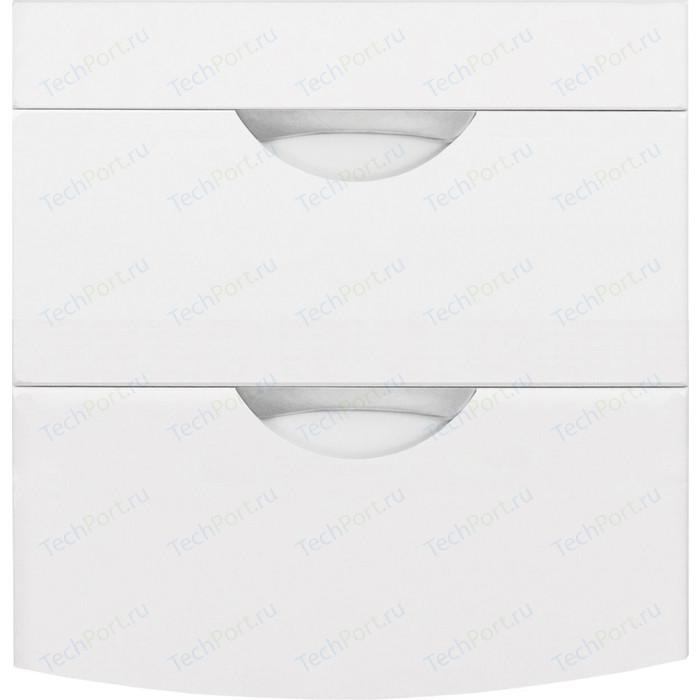 Тумба под раковину Style line Жасмин-2 Люкс 57 (120) стиральную машину, белая (4650134472141)