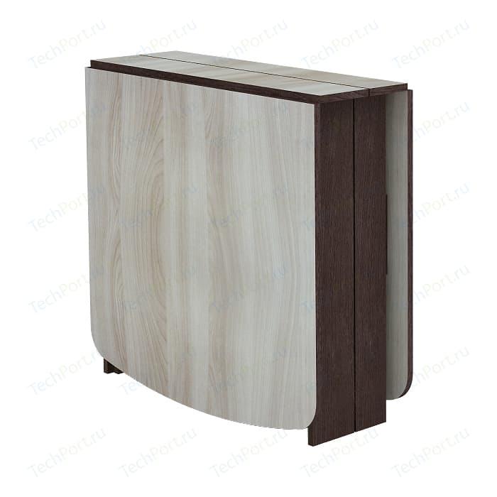 Стол книжка Комфорт - S Войцех 5 венге/шимо светлый стол книжка комфорт s войцех 4 шимо светлый шимо темный