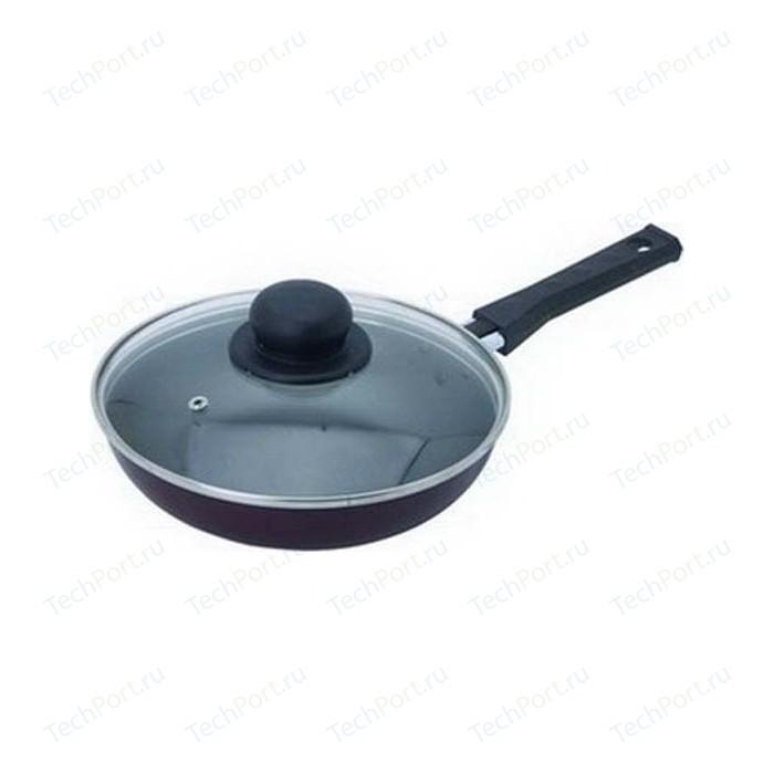 Сковорода с крышкой Flonal d 28см Black&Silver (BS2283)