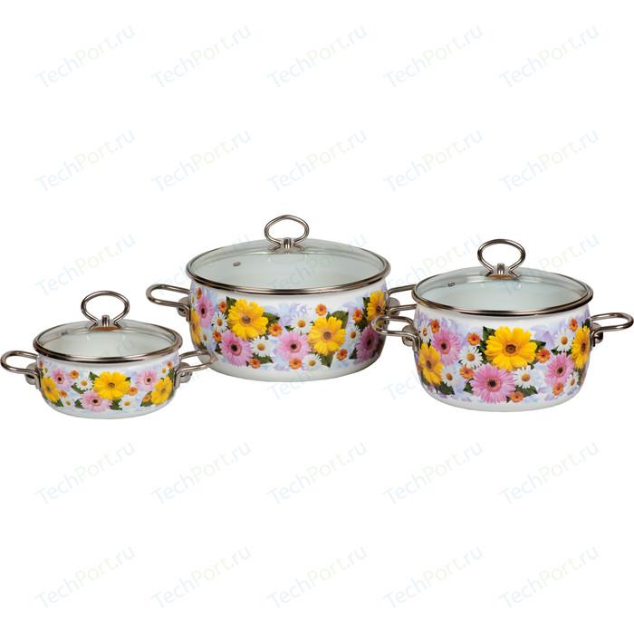 Набор эмалированной посуды 3 предмета Vitross №03 Fernanda 1DA035S