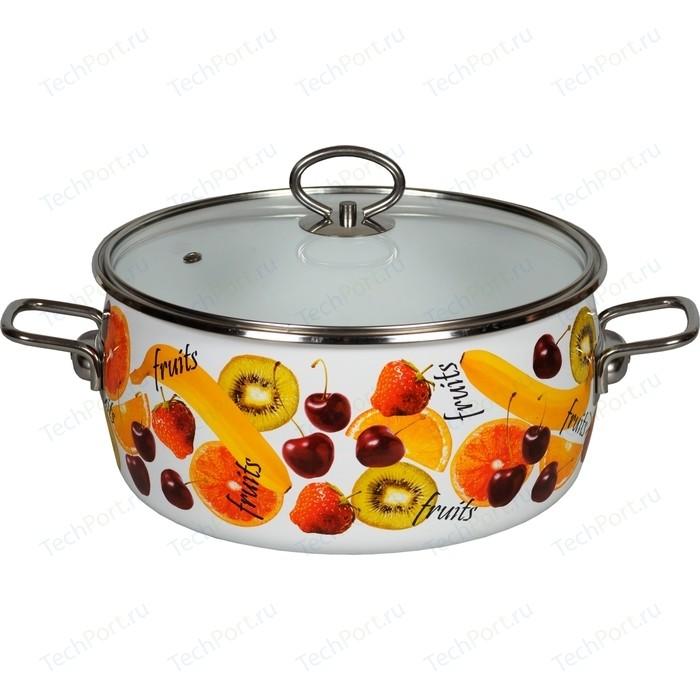 Кастрюля эмалированная 5.0 л Vitross Fruits 1SA245S