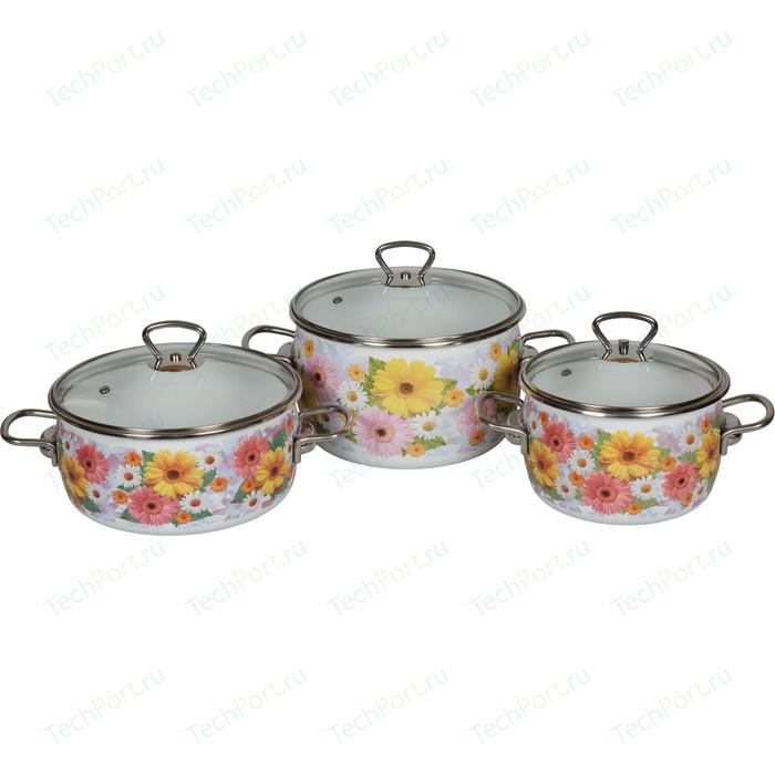 Набор эмалированной посуды 3 предмета Vitross №13 Fernanda 1DA135S