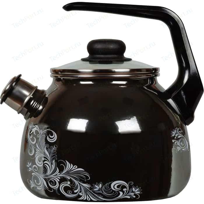 Чайник эмалированный со свистком 3.0 л Vitross Iseberg 1RC12
