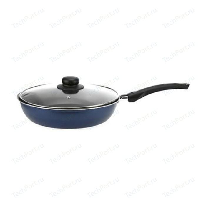 Сковорода с крышкой Калитва d 24см Сатин- Экономика (67243)