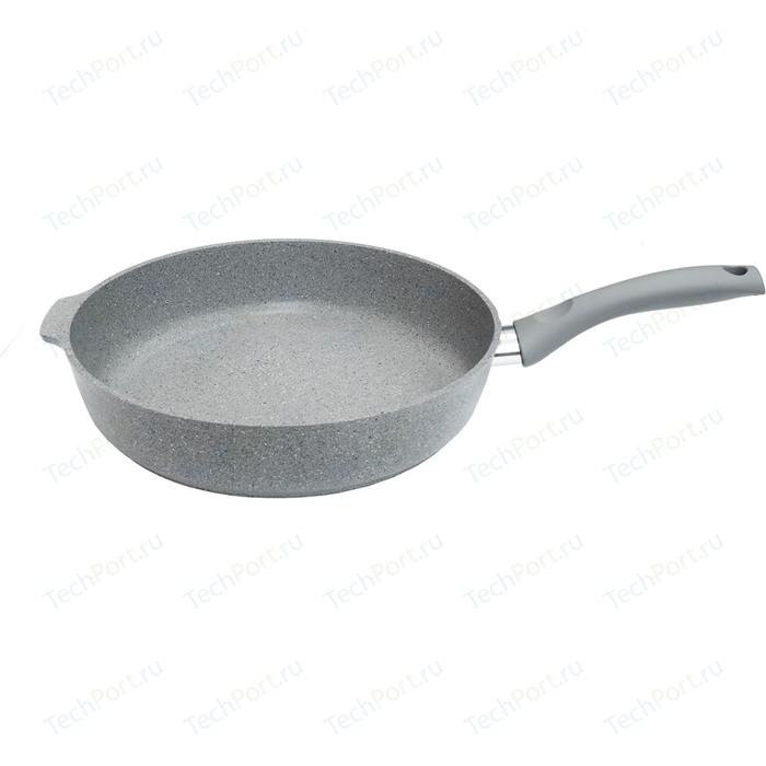 Сковорода Kukmara d 28см Светлый мрамор (смс281а) сковорода d 24 см kukmara мраморная смс241а светлый мрамор