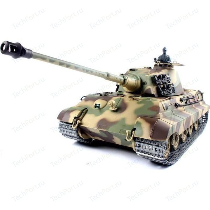 Радиоуправляемый танк Heng Long German King Tiger 1 Henschel масштаб 1:16 2.4G - 3888A-1
