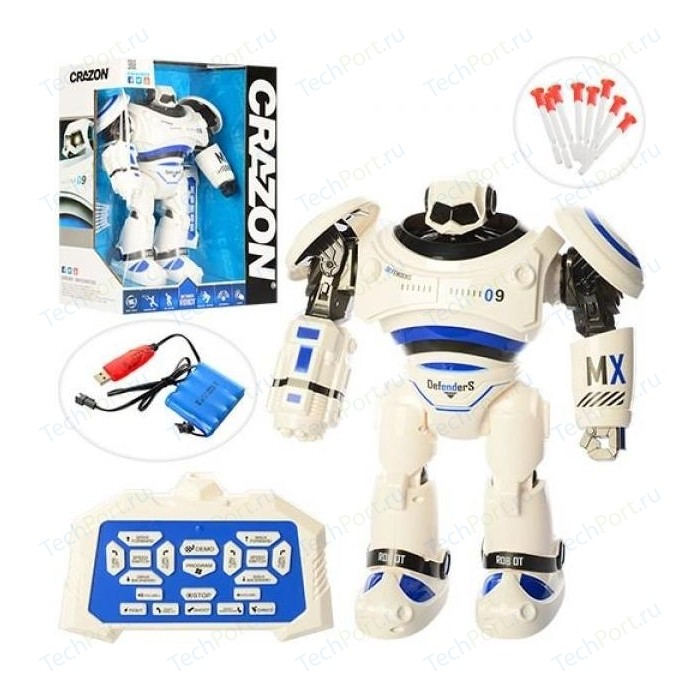 Радиоуправляемый робот Shantou Gepai Defenders (свет, звук, ходит, стреляет пульками) - 1701B
