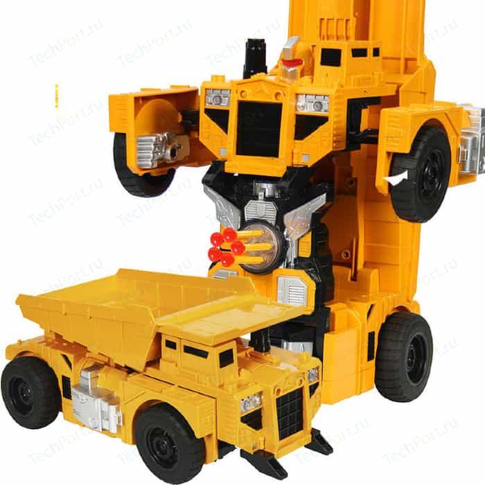 Радиоуправляемый робот MZ Model робот-трансформер Самосвал 1:14, стреляет присосками - 2379PF