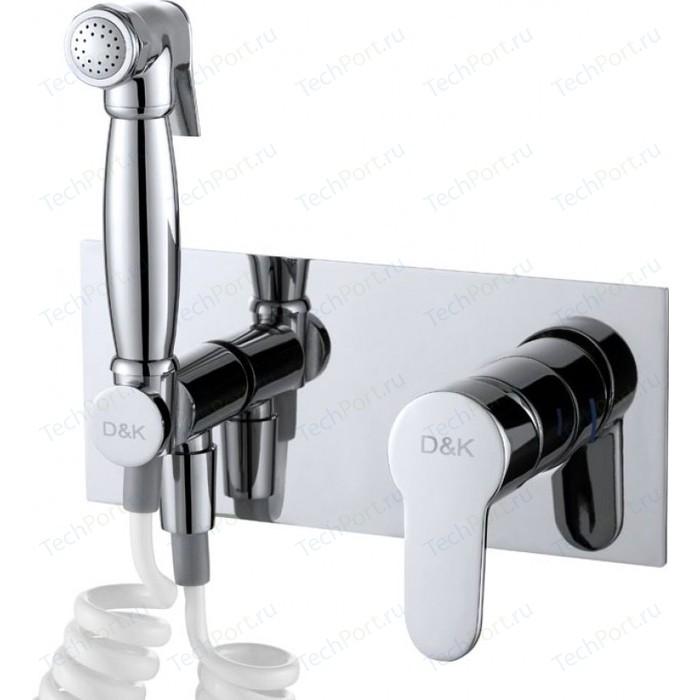 Смеситель с гигиеническим душем D&K Rhein Marx (DA1394501)