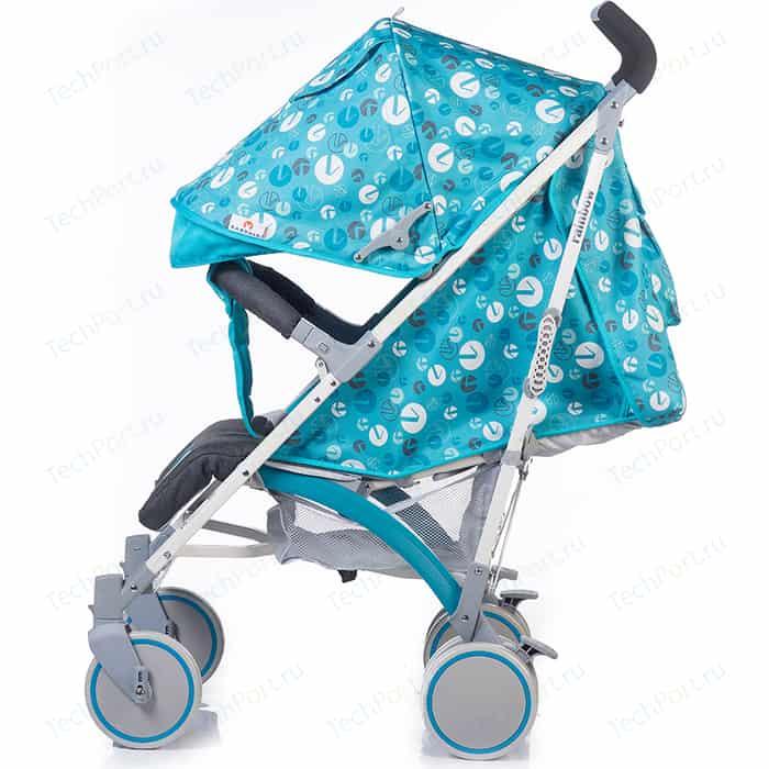 Коляска прогулочная BabyHit Rainbow Lt Blue Grey коляска прогулочная babyhit floret джинс