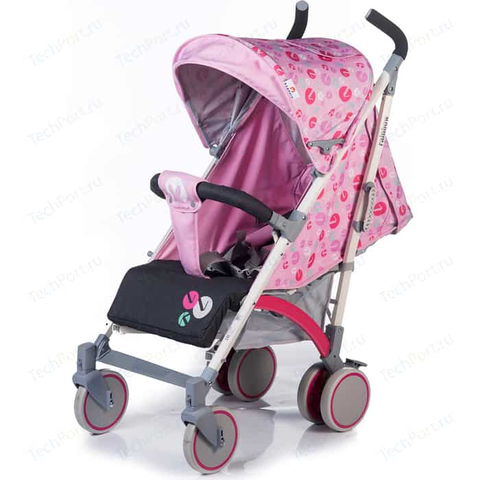 Коляска прогулочная BabyHit Rainbow Lt Pink Grey коляска прогулочная babyhit floret джинс