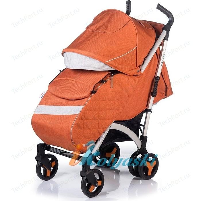 Коляска прогулочная BabyHit Rainbow Xt Linen Sandy коляска прогулочная babyhit floret джинс