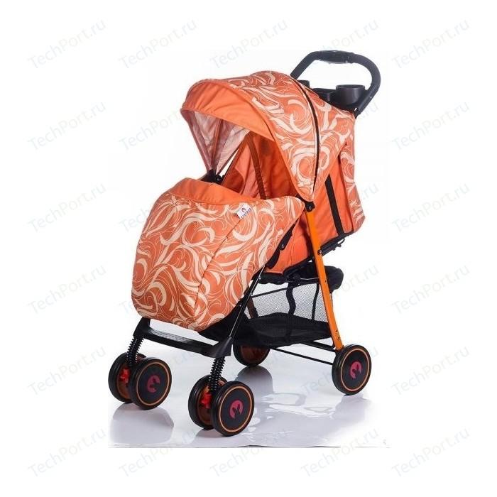 Коляска прогулочная BabyHit Simpy Wavy Orange коляска прогулочная babyhit floret джинс