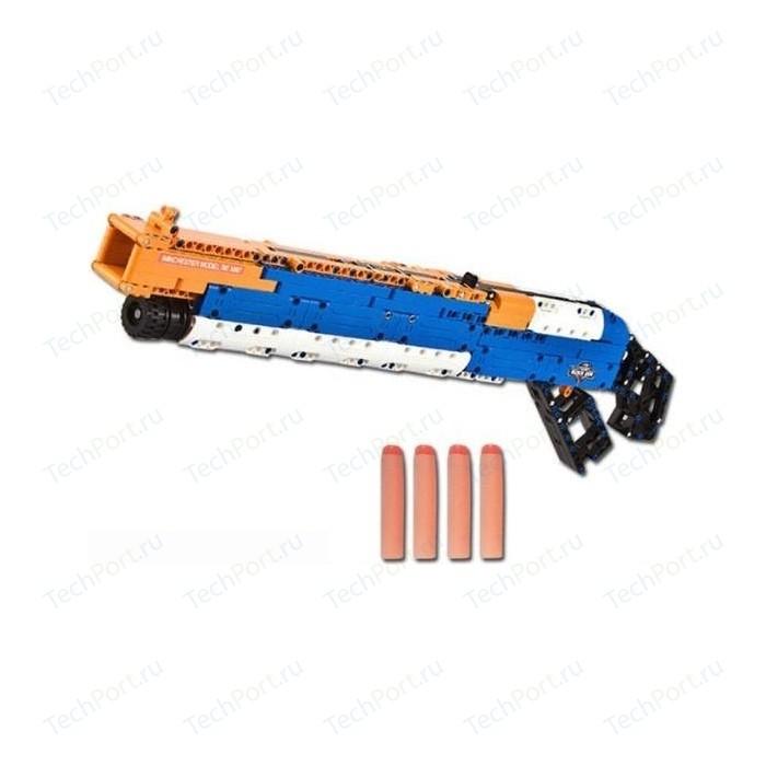 Конструктор Double E Cada Technics дробовик M1887, 506 деталей, стреляет пульками - C81004W