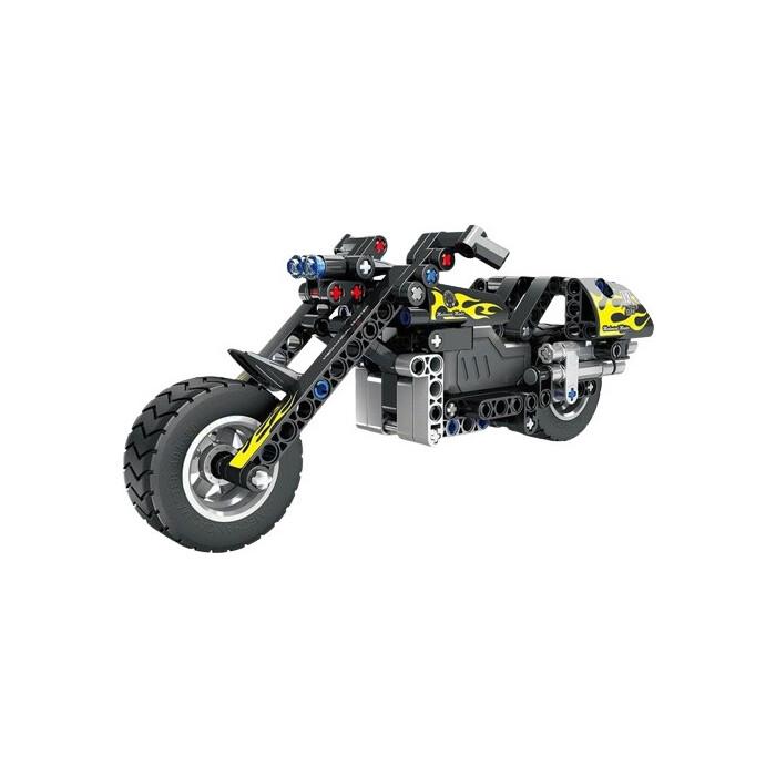 Конструктор QiHui Technics Мотоцикл (инерционная модель), 183 детали - QH5801