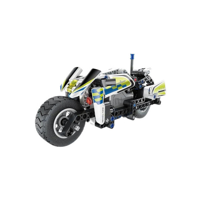 Конструктор QiHui Technics Полицейский мотоцикл (инерционная модель), 193 детали - QH5806