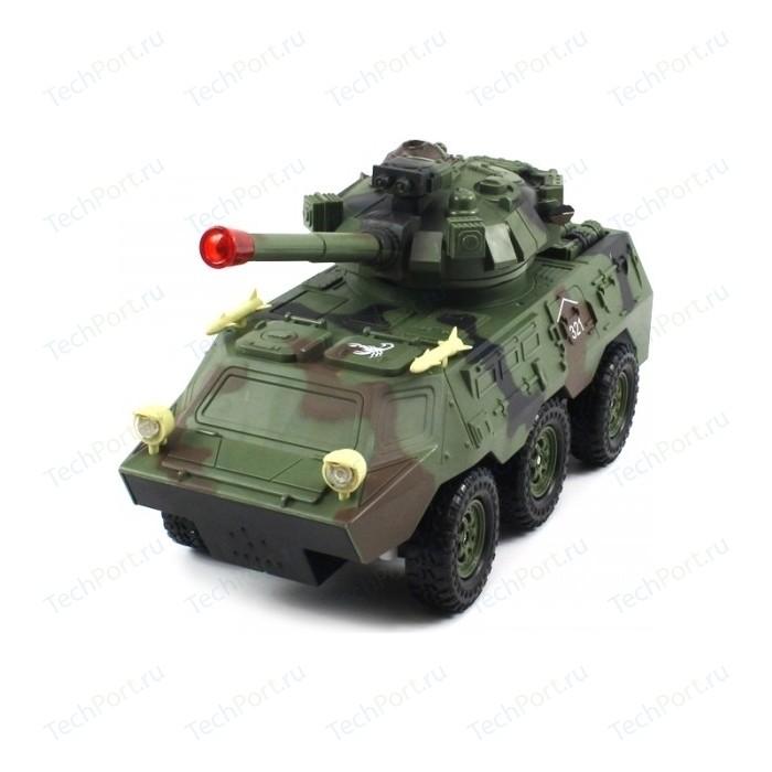 Радиоуправляемый военный бронетранспортер QiHui Armored Car 1:20 - 8011B