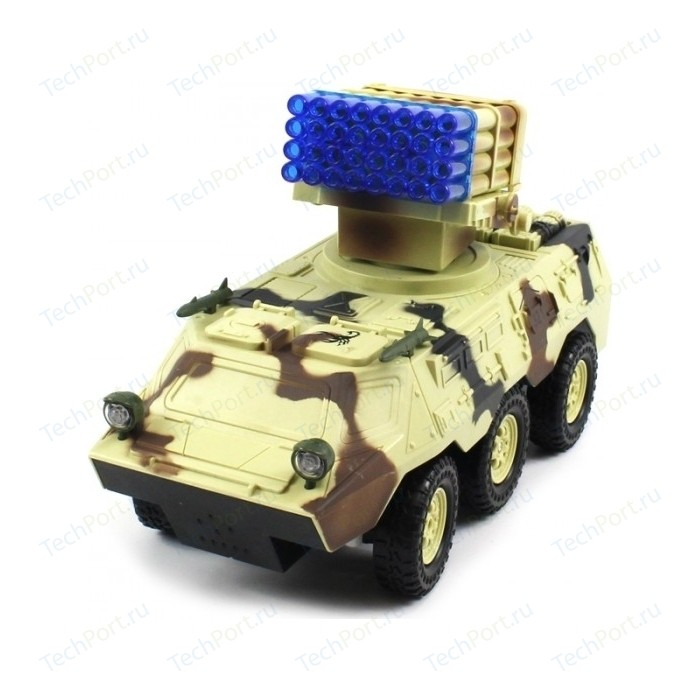 Радиоуправляемый военный бронетранспортер QiHui Armored Car 1:20 - 8012B