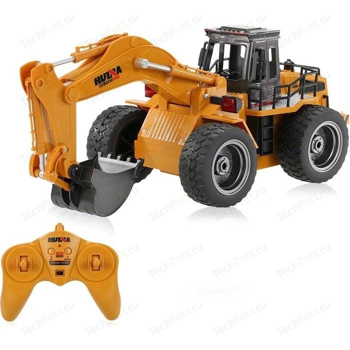 Радиоуправляемый экскаватор HuiNa Toys масштаб 1:18 2.4G - HN1530