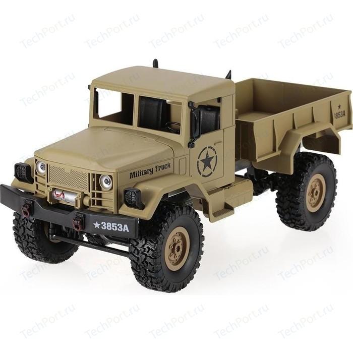 Радиоуправляемый военный Heng Long Rock Crawler Army Car 4WD масштаб 1:16 2.4G - 3853A