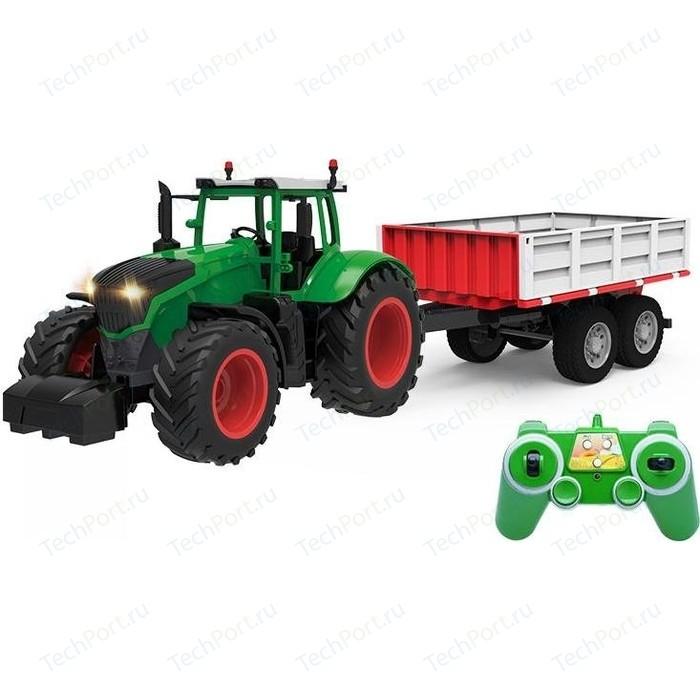 Радиоуправляемый сельскохозяйственный трактор Double Eagle с прицепом RC Car масштаб 1:16 - E354-003