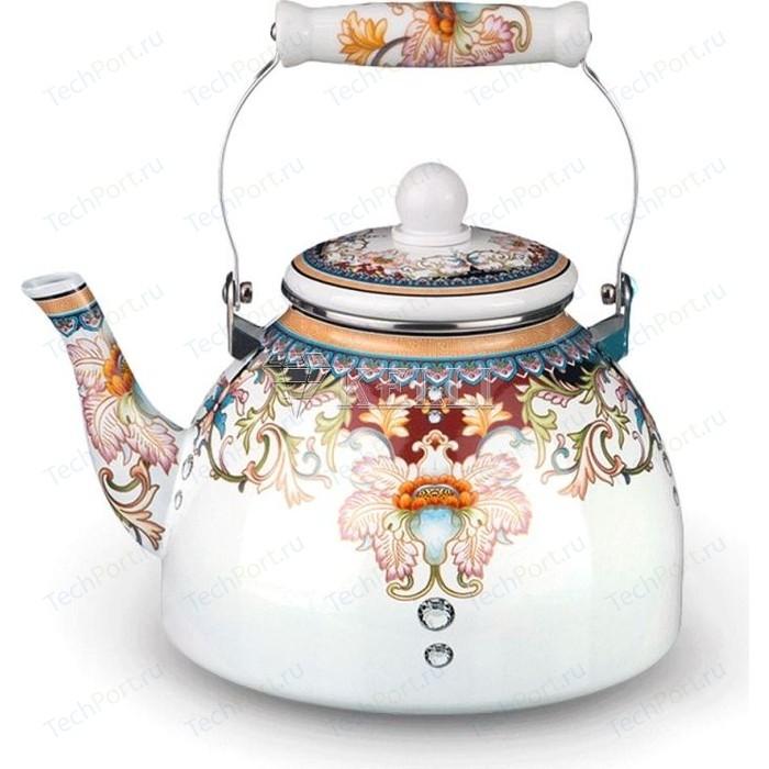 Чайник эмалированный 3.0 л Kelli (KL-4448)
