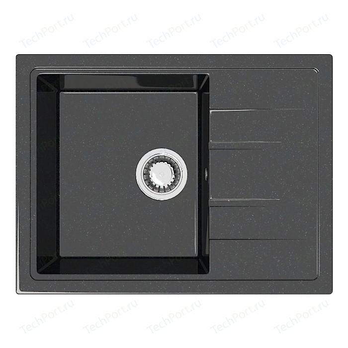Кухонная мойка Marrbaxx Анастасия Z150Q4 чёрный (Z150Q004)
