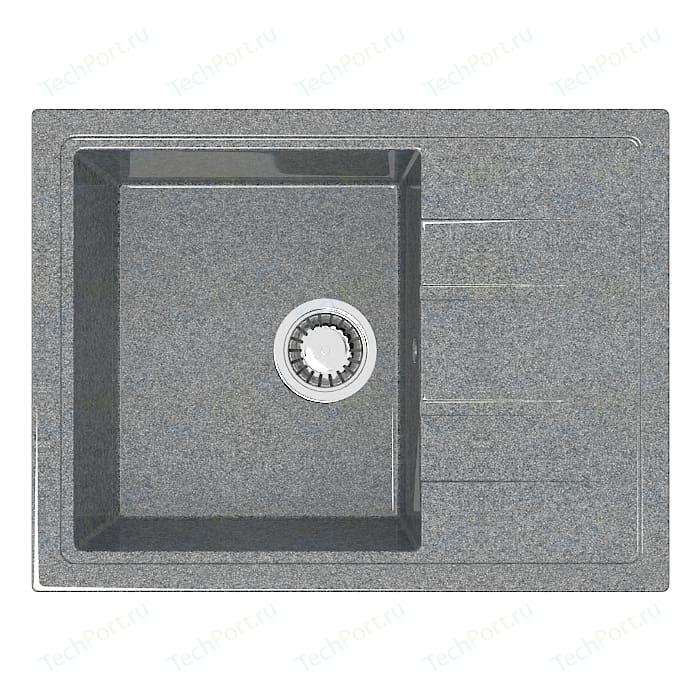 Кухонная мойка Marrbaxx Анастасия Z150Q8 тёмно-серый (Z150Q008)