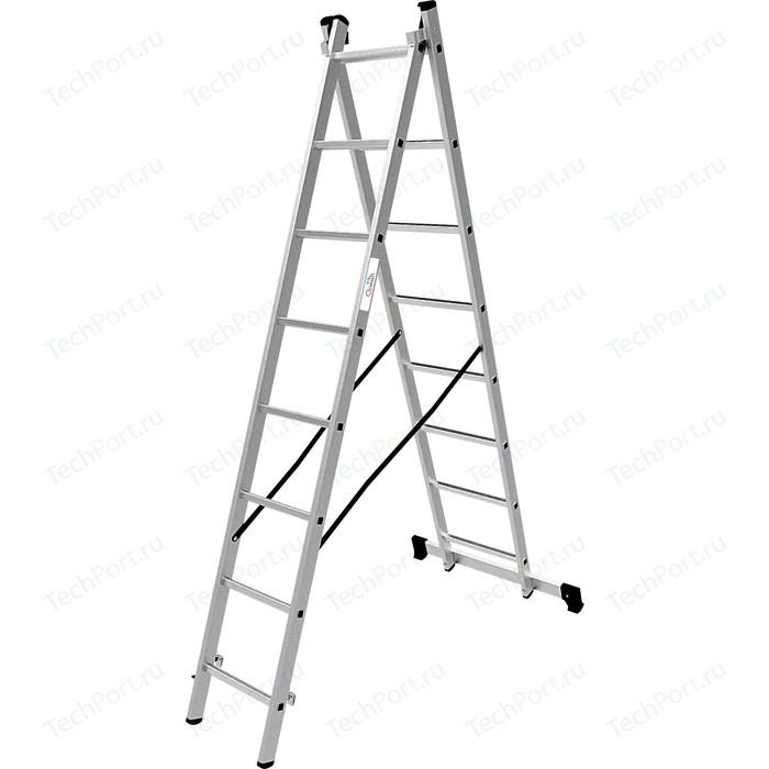 Лестница двухсекционная Олимп 2x8м (1220208A)